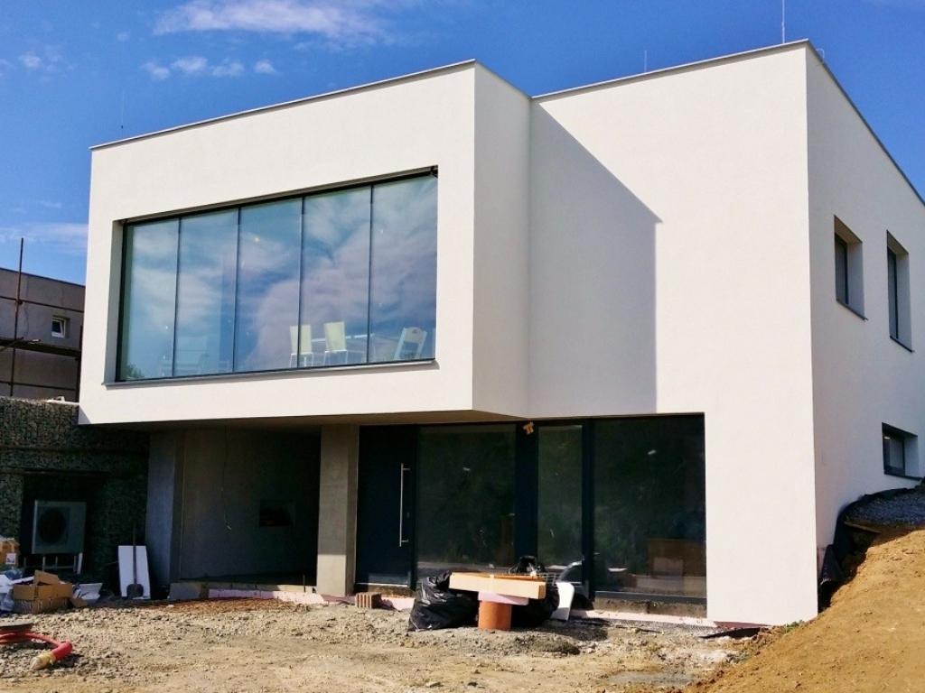 Výstavba rodinného domu ve Zlíně na Příluku