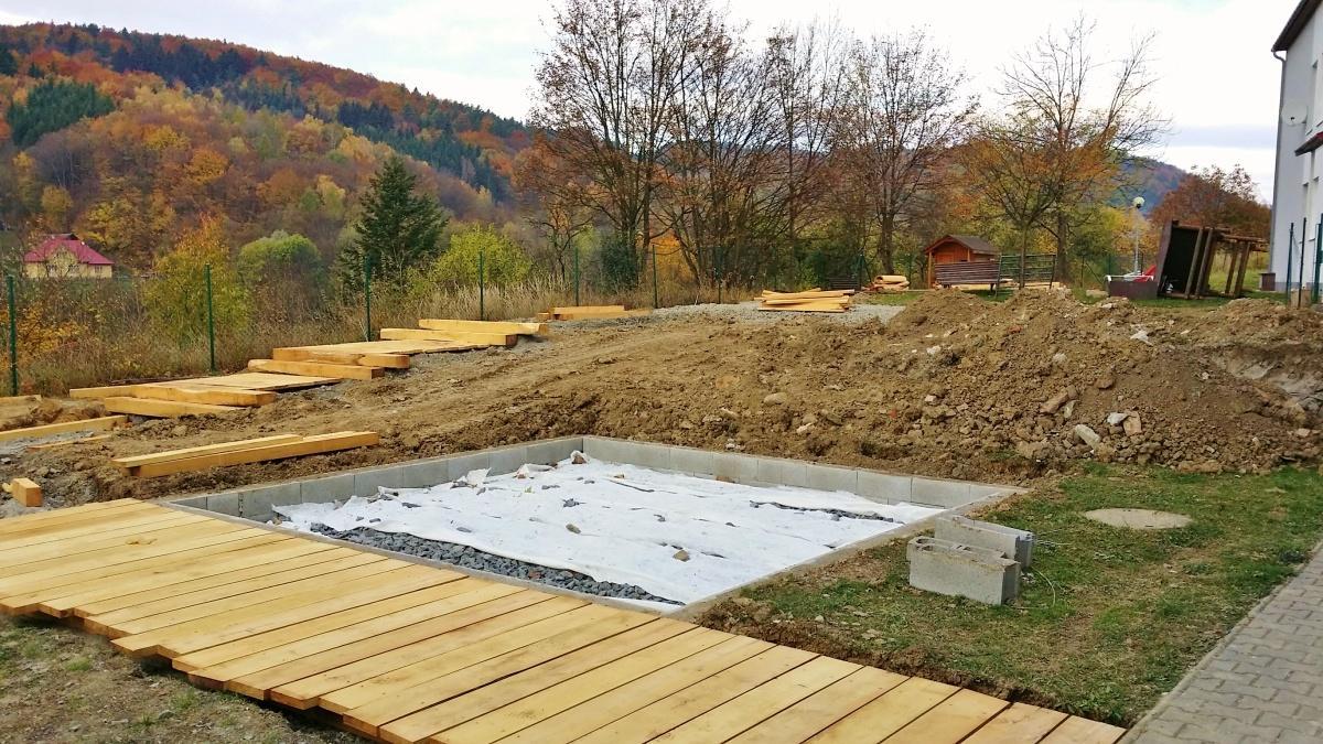 Realizace dětského hřiště v Kašavě